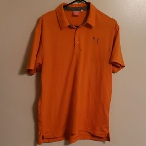 *Puma* Golf polo ~ Orange ~ Size L